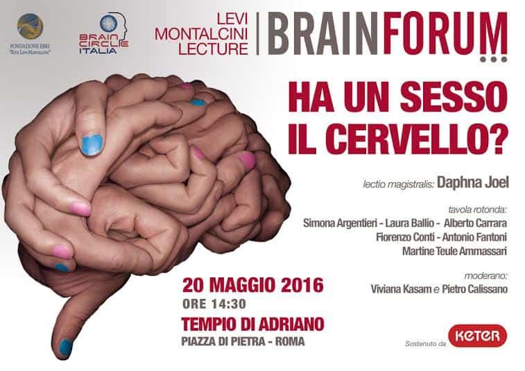 2016 – Ha un sesso il cervello