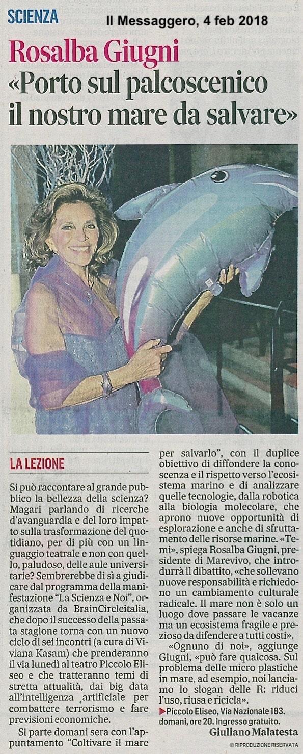 Il Messaggero – 04.02.2018
