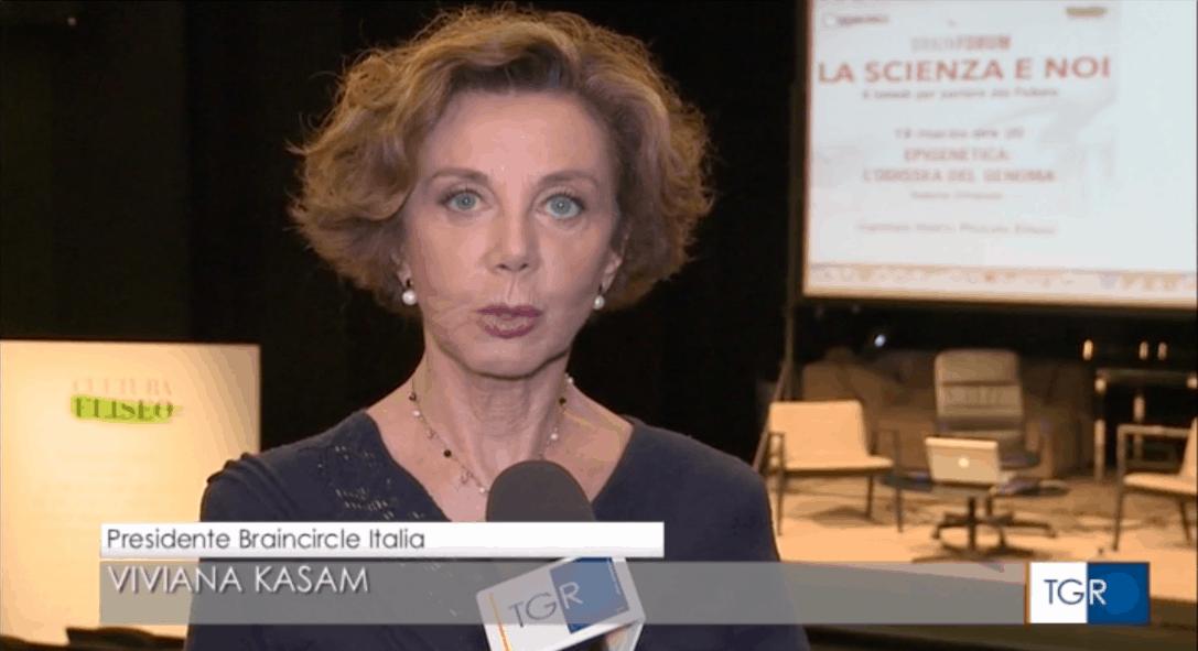 Intervista a Viviana Kasam – TGR Lazio