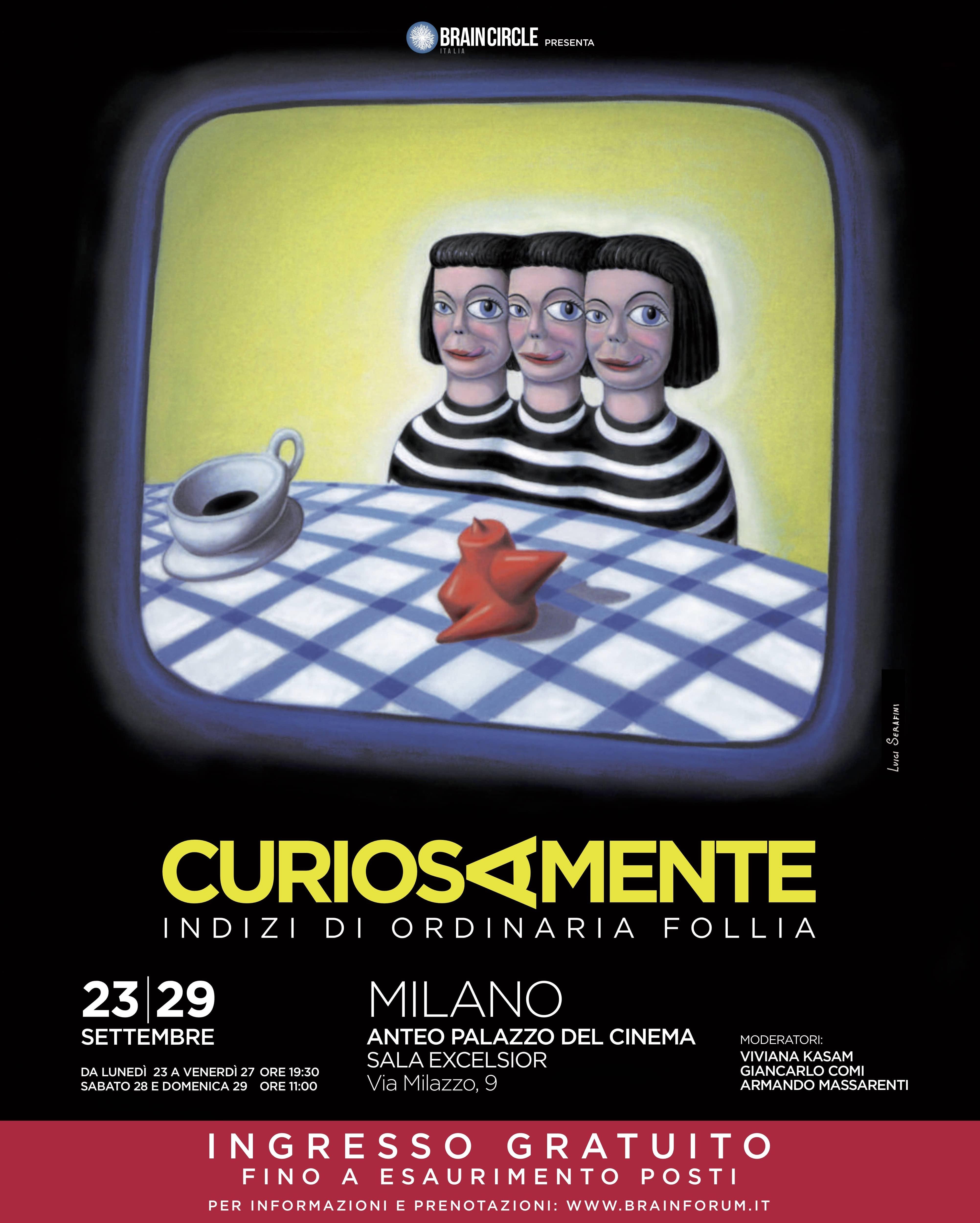 Cervello & Cinema 2019 Curiosamente